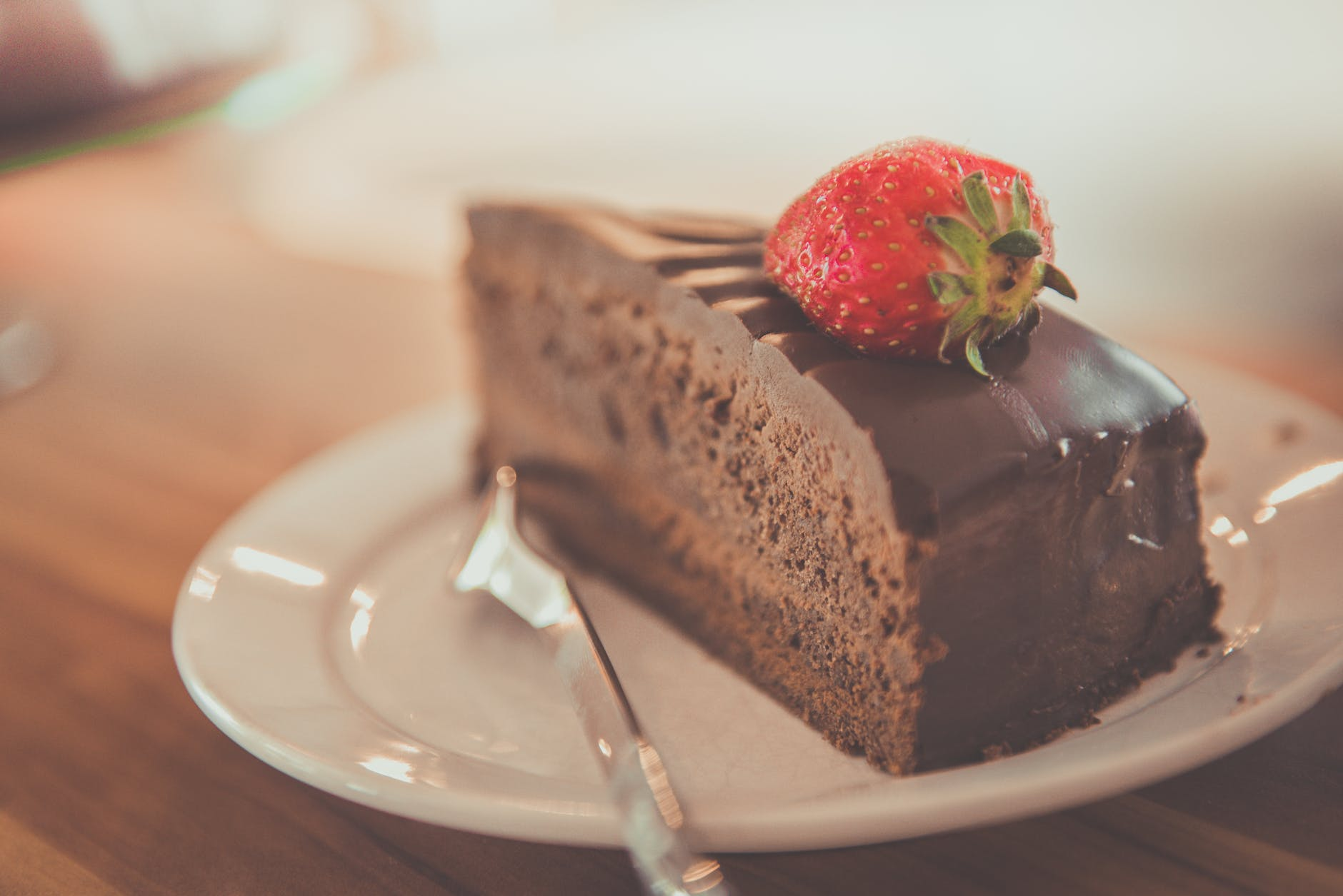 food plate chocolate dessert