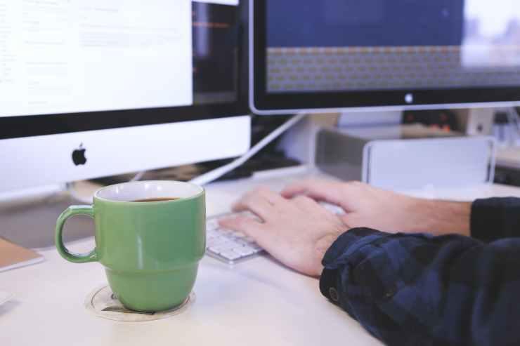typing writing keyboard working
